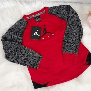 NWT nike Jordan jumpman long sleeve tee small 4-5